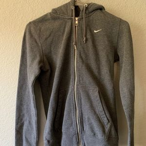 NIKE women's zipped hoodie jacket